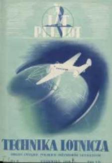 Technika Lotnicza: organ Związku Polskich Inżynierów Lotniczych 1939.06 R.2(7) Nr6