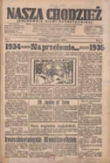 Nasza Chodzież: organ poświęcony obronie interesów narodowych na zachodnich ziemiach Polski 1935.01.01 R.6 Nr1