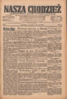 Nasza Chodzież: organ poświęcony obronie interesów narodowych na zachodnich ziemiach Polski 1935.01.03 R.6 Nr2
