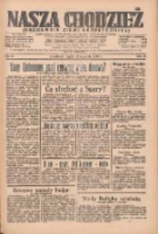 Nasza Chodzież: organ poświęcony obronie interesów narodowych na zachodnich ziemiach Polski 1935.01.11 R.6 Nr9