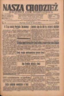 Nasza Chodzież: organ poświęcony obronie interesów narodowych na zachodnich ziemiach Polski 1935.01.22 R.6 Nr18