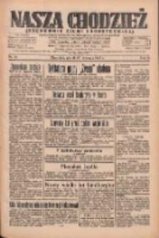 Nasza Chodzież: organ poświęcony obronie interesów narodowych na zachodnich ziemiach Polski 1935.01.25 R.6 Nr21