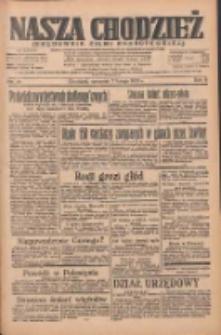 Nasza Chodzież: organ poświęcony obronie interesów narodowych na zachodnich ziemiach Polski 1935.02.07 R.6 Nr31