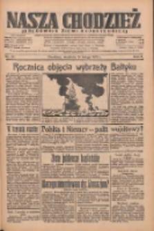 Nasza Chodzież: organ poświęcony obronie interesów narodowych na zachodnich ziemiach Polski 1935.02.10 R.6 Nr34