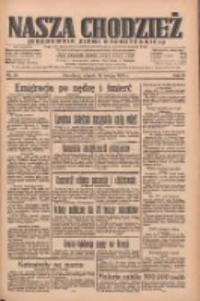 Nasza Chodzież: organ poświęcony obronie interesów narodowych na zachodnich ziemiach Polski 1935.02.12 R.6 Nr35