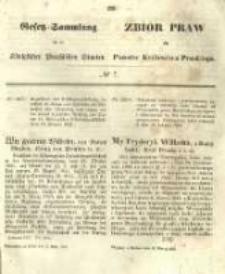 Gesetz-Sammlung für die Königlichen Preussischen Staaten. 1855.03.13 No7