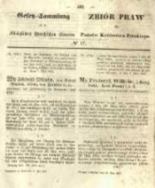 Gesetz-Sammlung für die Königlichen Preussischen Staaten. 1855.05.22 No17