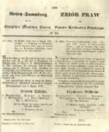 Gesetz-Sammlung für die Königlichen Preussischen Staaten. 1855.10.18 No38