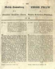 Gesetz-Sammlung für die Königlichen Preussischen Staaten. 1855.10.31 No39
