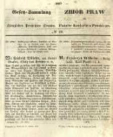 Gesetz-Sammlung für die Königlichen Preussischen Staaten. 1855.10.31 No40
