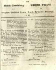 Gesetz-Sammlung für die Königlichen Preussischen Staaten. 1855.11.19 No42