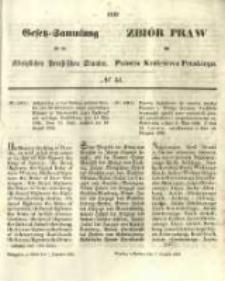 Gesetz-Sammlung für die Königlichen Preussischen Staaten. 1855.12.07 No44
