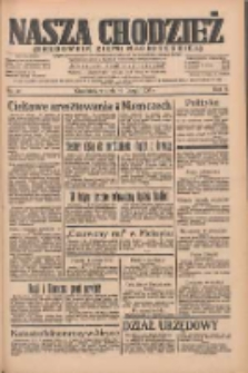 Nasza Chodzież: organ poświęcony obronie interesów narodowych na zachodnich ziemiach Polski 1935.02.19 R.6 Nr41