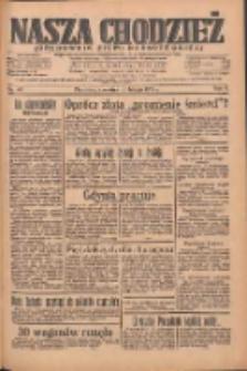 Nasza Chodzież: organ poświęcony obronie interesów narodowych na zachodnich ziemiach Polski 1935.02.21 R.6 Nr43