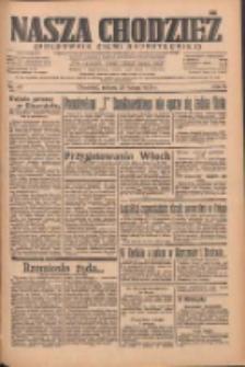 Nasza Chodzież: organ poświęcony obronie interesów narodowych na zachodnich ziemiach Polski 1935.02.23 R.6 Nr45
