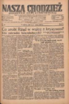 Nasza Chodzież: organ poświęcony obronie interesów narodowych na zachodnich ziemiach Polski 1935.03.02 R.6 Nr51