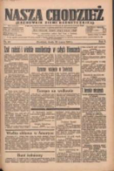 Nasza Chodzież: organ poświęcony obronie interesów narodowych na zachodnich ziemiach Polski 1935.03.20 R.6 Nr66