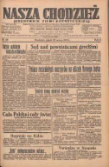 Nasza Chodzież: organ poświęcony obronie interesów narodowych na zachodnich ziemiach Polski 1935.03.22 R.6 Nr68