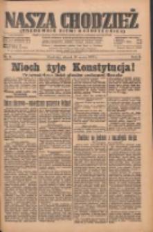 Nasza Chodzież: organ poświęcony obronie interesów narodowych na zachodnich ziemiach Polski 1935.03.26 R.6 Nr71