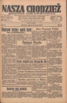 Nasza Chodzież: organ poświęcony obronie interesów narodowych na zachodnich ziemiach Polski 1935.03.29 R.6 Nr74