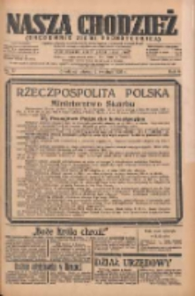 Nasza Chodzież: organ poświęcony obronie interesów narodowych na zachodnich ziemiach Polski 1935.04.02 R.6 Nr77