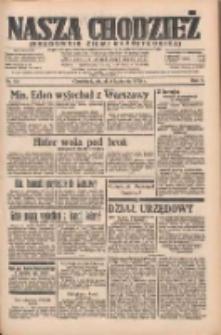Nasza Chodzież: organ poświęcony obronie interesów narodowych na zachodnich ziemiach Polski 1935.04.05 R.6 Nr80