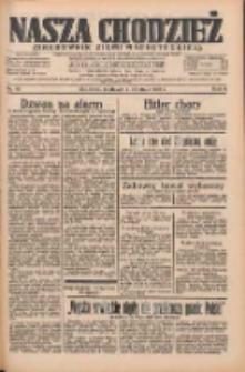 Nasza Chodzież: organ poświęcony obronie interesów narodowych na zachodnich ziemiach Polski 1935.04.07 R.6 Nr82