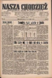 Nasza Chodzież: organ poświęcony obronie interesów narodowych na zachodnich ziemiach Polski 1935.04.10 R.6 Nr84