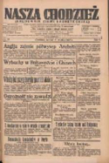 Nasza Chodzież: organ poświęcony obronie interesów narodowych na zachodnich ziemiach Polski 1935.04.13 R.6 Nr87