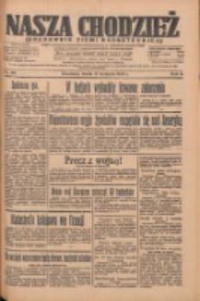 Nasza Chodzież: organ poświęcony obronie interesów narodowych na zachodnich ziemiach Polski 1935.04.17 R.6 Nr90