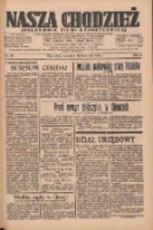 Nasza Chodzież: organ poświęcony obronie interesów narodowych na zachodnich ziemiach Polski 1935.04.18 R.6 Nr91