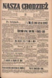 Nasza Chodzież: organ poświęcony obronie interesów narodowych na zachodnich ziemiach Polski 1935.04.24 R.6 Nr95