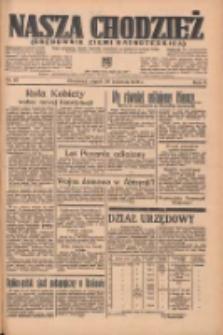Nasza Chodzież: organ poświęcony obronie interesów narodowych na zachodnich ziemiach Polski 1935.04.26 R.6 Nr97