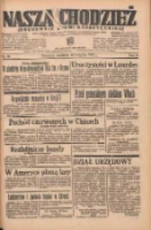 Nasza Chodzież: organ poświęcony obronie interesów narodowych na zachodnich ziemiach Polski 1935.04.28 R.6 Nr99