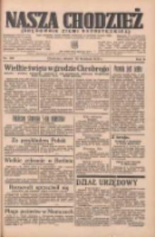 Nasza Chodzież: organ poświęcony obronie interesów narodowych na zachodnich ziemiach Polski 1935.04.30 R.6 Nr100