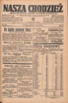Nasza Chodzież: organ poświęcony obronie interesów narodowych na zachodnich ziemiach Polski 1935.05.07 R.6 Nr105