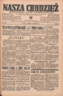 Nasza Chodzież: organ poświęcony obronie interesów narodowych na zachodnich ziemiach Polski 1935.05.08 R.6 Nr106