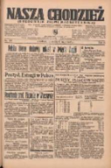 Nasza Chodzież: organ poświęcony obronie interesów narodowych na zachodnich ziemiach Polski 1935.05.09 R.6 Nr107
