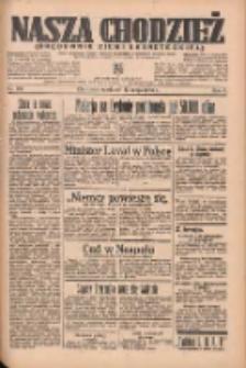 Nasza Chodzież: organ poświęcony obronie interesów narodowych na zachodnich ziemiach Polski 1935.05.12 R.6 Nr110