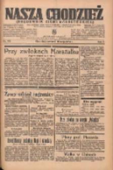 Nasza Chodzież: organ poświęcony obronie interesów narodowych na zachodnich ziemiach Polski 1935.05.16 R.6 Nr113