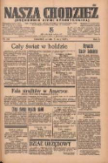 Nasza Chodzież: organ poświęcony obronie interesów narodowych na zachodnich ziemiach Polski 1935.05.18 R.6 Nr115