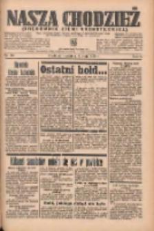 Nasza Chodzież: organ poświęcony obronie interesów narodowych na zachodnich ziemiach Polski 1935.05.19 R.6 Nr116