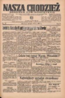 Nasza Chodzież: organ poświęcony obronie interesów narodowych na zachodnich ziemiach Polski 1935.05.21 R.6 Nr117