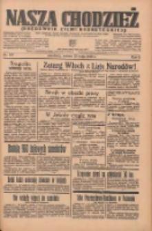 Nasza Chodzież: organ poświęcony obronie interesów narodowych na zachodnich ziemiach Polski 1935.05.25 R.6 Nr121