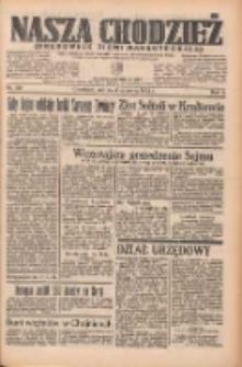 Nasza Chodzież: organ poświęcony obronie interesów narodowych na zachodnich ziemiach Polski 1935.06.08 R.6 Nr132