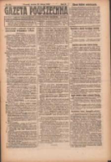 Gazeta Powszechna: organ Zjednoczenia Producentów Rolnych 1921.02.26 R.2 Nr28