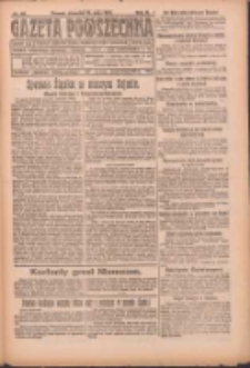 Gazeta Powszechna: organ Zjednoczenia Producentów Rolnych 1921.05.12 R.2 Nr89
