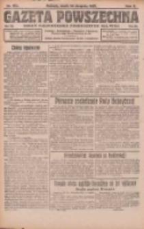Gazeta Powszechna: organ Zjednoczenia Producentów Rolnych 1921.08.10 R.2 Nr163