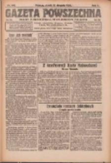 Gazeta Powszechna: organ Zjednoczenia Producentów Rolnych 1921.08.12 R.2 Nr165