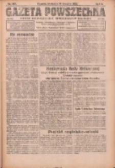Gazeta Powszechna: organ Zjednoczenia Producentów Rolnych 1921.08.14 R.2 Nr167